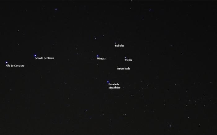 Estrelas do cruzeiro do sul