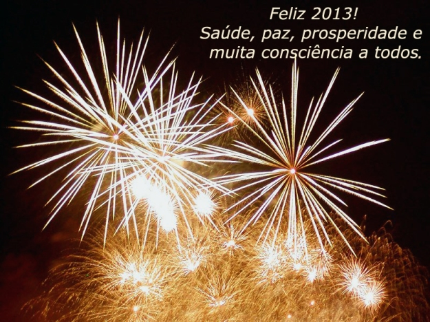 Feliz 2013 a todos.