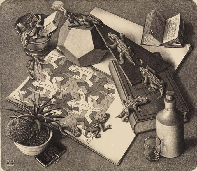 Repteis M. C. Escher