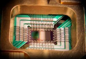 DWave1 128 chip