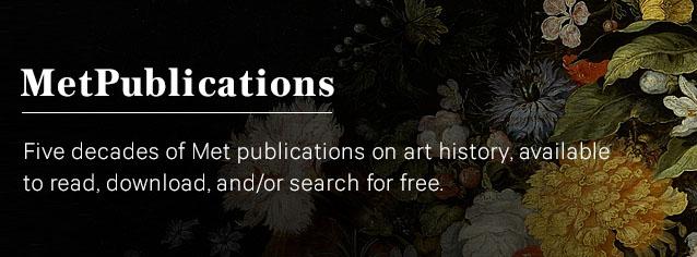 Banner - The Met Publications