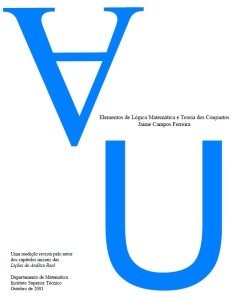 Capa - Elementos de lógica matemática e teoria dos conjuntos - Jaime Campos Ferreira